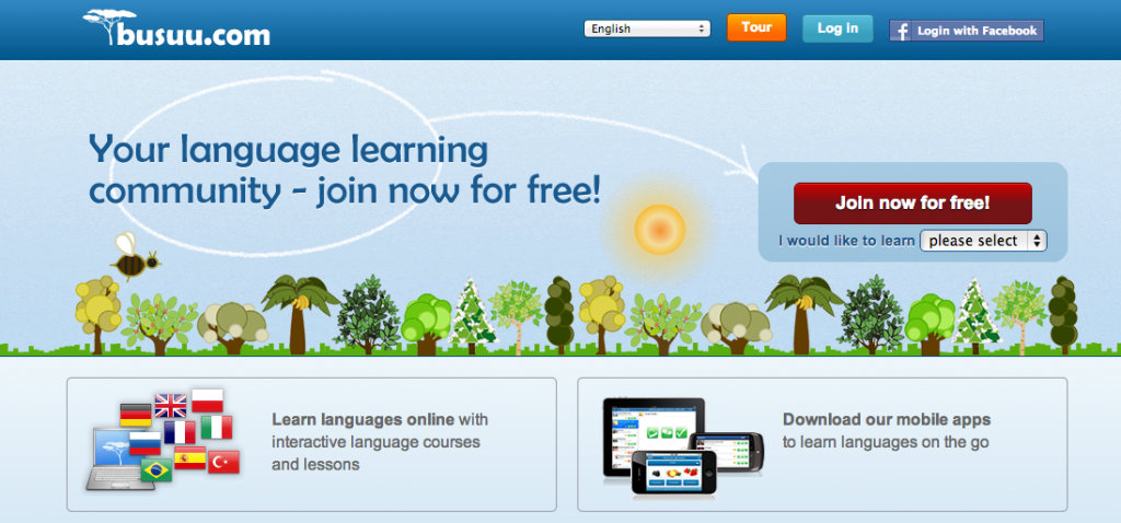 busuu Learn languages for free online 1024x478