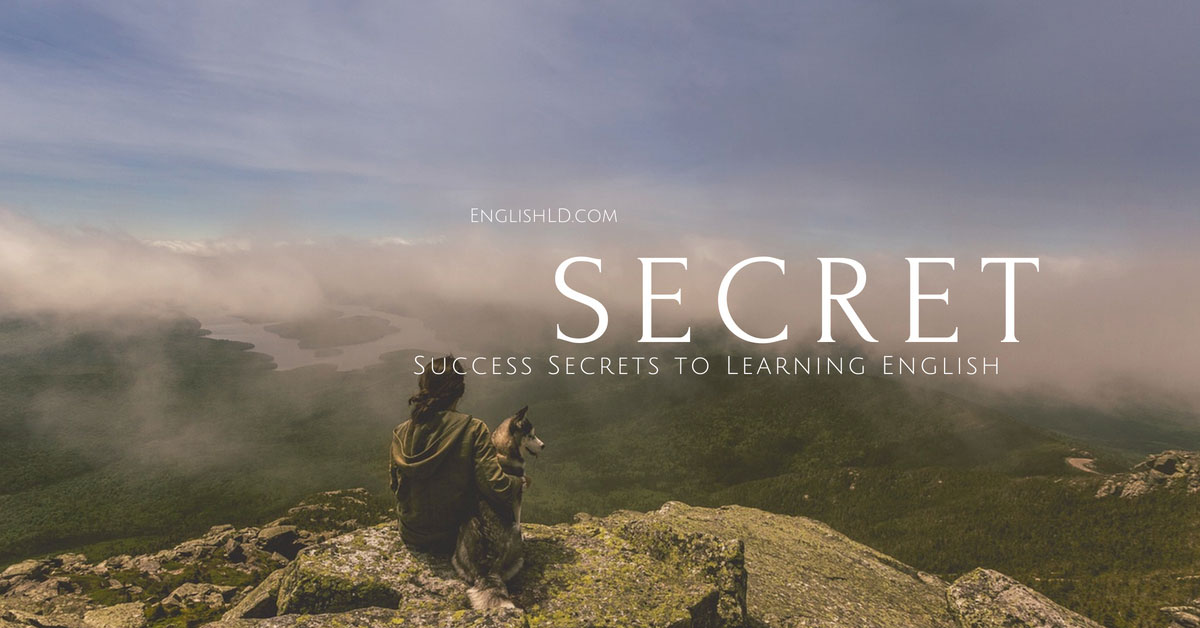 Success Secrets to Learning English